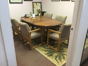 Board room chairs and credenza Cambridge Kitchener Area image 1