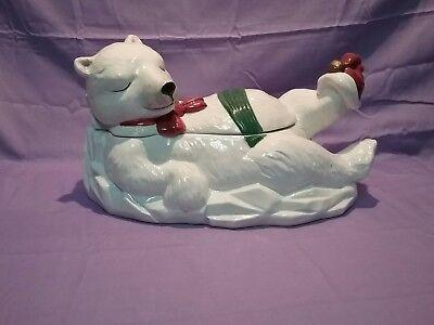 Polar Bear Cookie  Jar by Epoch