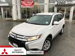 2016 Mitsubishi Outlander ES  - AWC, HEATED SEATS, BACK UP CAMER