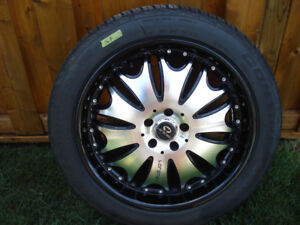 Lorenzo Wheels and Continental Tires