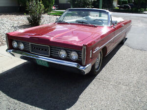 1965 Ford meteor Montcalm convertible - similar to mercury