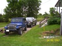 1988/92 Jeep YJ for parts
