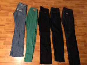 5 Jeans Size 26 for only $30 (one is Guess Jeans)