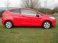 2012 Ford Fiesta 1.6 TDCi [95] Zetec ECOnetic 3dr 3 door Hatchback