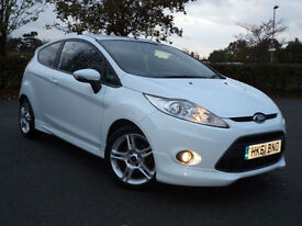 Ford Fiesta 1.6 ( 120ps ) 2012MY Zetec S Tinted Windows