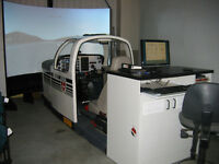 Simulateur de vol Flight simulator