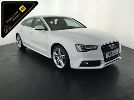 2013 63 AUDI A5 S LINE TDI 5 DOOR HATCHBACK 1 OWNER AUDI SERVICE HISTORY FINANCE