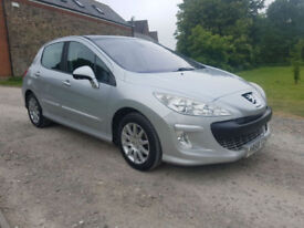 2008 PEUGEOT 308 1.6 VTI SE 1.6 VTi - 1 LADY + 1 GENTLEMEN FROM NEW