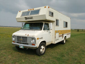 1977 Chevy Diplomat C Class Motorhome SAFTIED