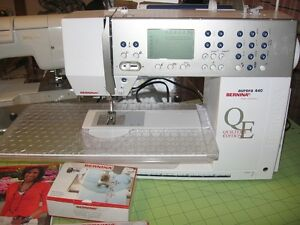 Bernina QE 440 computerized sewing machine