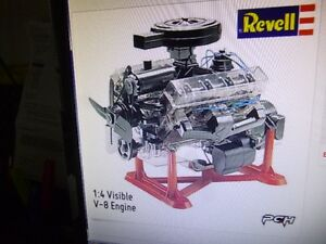 Looking for Revell V-8 Engine