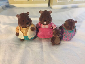 CAlico Critters Beaver Family