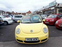 2008 Volkswagen Beetle Cabriolet 1.9 TDi Diesel From £4,495 + Retail Package CON