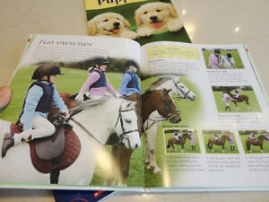 3 Books -Crazy For Puppies , Horse & Pony Book, When Santa Fell Kitchener / Waterloo Kitchener Area image 3