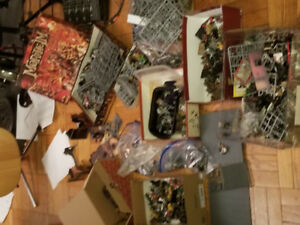 All my games workshop stuff, fantasy, mordheim, quest, etc.