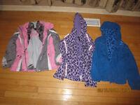 Girls jackets - size 10/12
