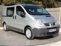 12918817a5 Nissan Primastar Dci Se 115 Swb Crc Shr Van With Side Windows 2.0 Manual  Diesel