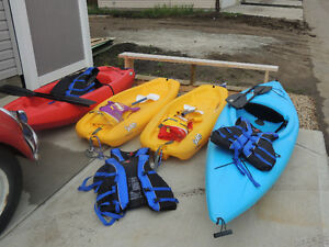 Family kayak package
