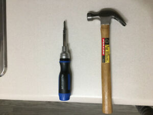 Hammer and Screw Driver -Combo-