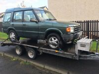 Land rover discovery 300 tdi auto breaking
