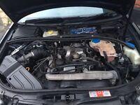 Audi a4 2.5 TDI DIESEL ENGINE covered 100k