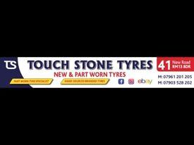 Tyre shop . Tire shop . Part worn & new tyres