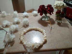 assorted wedding items