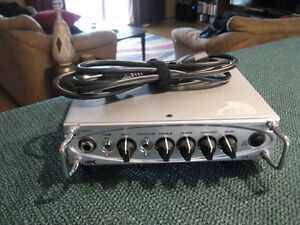 ~GALLIEN KRUGER MB200 MICRO BASS AMP~
