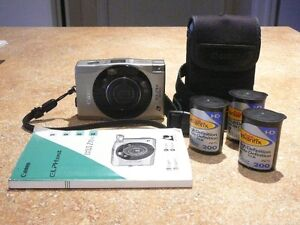 Compact Point-& Shoot Canon Elph 370Z APS Camera