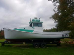 28 ft lobster boat