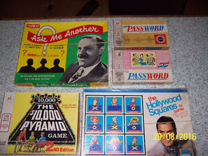Lot of 8 Trivia type games