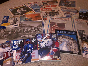 1993 TORONTO MAPLE LEAFS FANS NEWSPAPER SCRAPBOOK COLLECTION WOW Cambridge Kitchener Area image 9