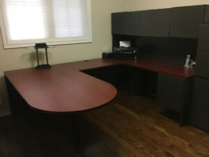 Success Office Furniture (Cherry/Charcoal)