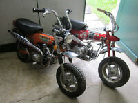 2 Honda CT 70 / Trail 70