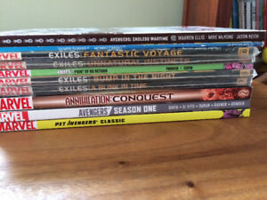 Comics graphic novels