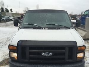 2008 FORD E350 SUPER DUTY CARGO VAN ONLY$5,995 London Ontario image 2