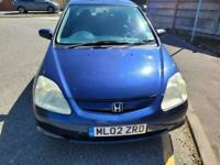 2002 Honda Civic 1.6 i-VTEC SE 5dr Hatchback Petrol Manual