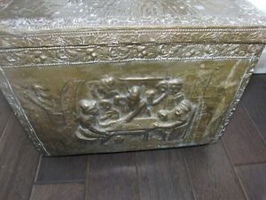 Rare Antique Old one of a kind chest / box