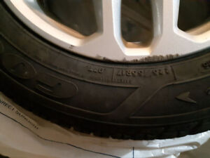 4 Winter Tires with Rims For Sale