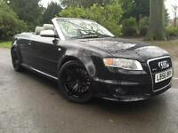 Audi RS4 Cabriolet 4.2 quattro,Warrented 63K Miles,FSH,IVORY LEATHER,NAV,BOSE,