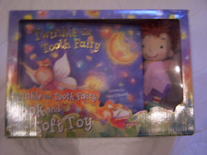 New Twinkle the Tooth Fairy Book & Soft Toy