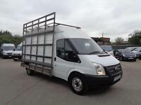 FORD TRANSIT 2.2 TDCi (125PS)   LWB   WINDOW / GLASS CARRIER   1 OWNER   2014