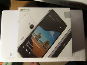 BRAND NEW SEALED UNLOCKED LUMIA 650 DUAL SIM WITH WARRANTY