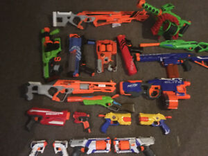 Nerf and non nerf guns for sale