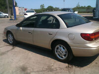 2002 Saturn S-Series certified and e tested Sedan