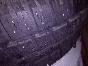 Winter tires Cooper Discoverer M+S 245 65 R17 with rims Kingston Kingston Area image 3