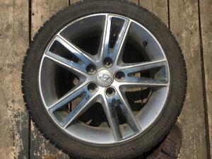 Nokian low profile tires/alloy rims for Hyundai Elantra