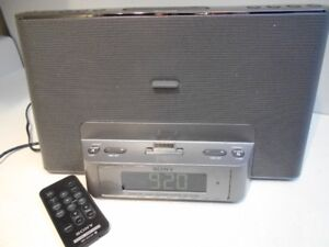 SONY RADIO - ALARM  CLOCK - Personal Audio Docking System