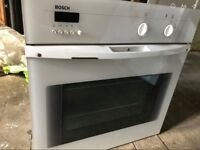 BOSCH integrated oven/Oven/Grill