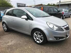 2010 Vauxhall Corsa SXi 1.2i 16v ( a/c ) Silver 3dr Hatch, **ANY PX WELCOME**